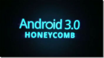  android honeycomb - bildet er hentet fra android.com