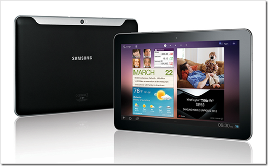 Samsung Galaxy Tab 8.9 &amp; 10.1