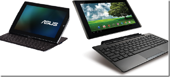 Asus EEE Pad Transformer &amp; Slider
